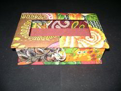 Fabric Covered Boxes for Art and Crafts, Gifting