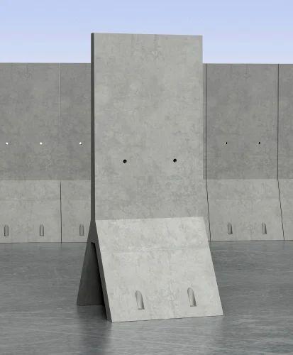 Precast Rcc Wall : Precast concrete rocket wall and perforated