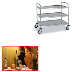 SS Kitchen Trolley for Hotel