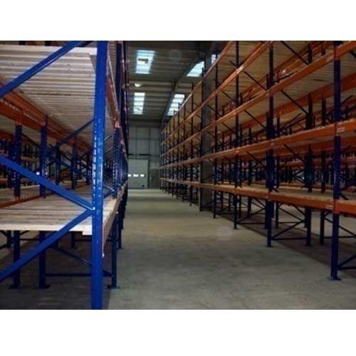 warehouse wood pallet
