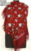 Fine Wool Embroidered Shawls