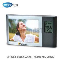 Desk Clocks - Frame And Clock
