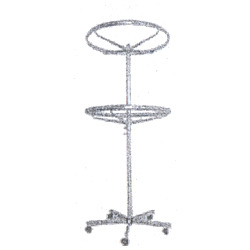 2 Ring Garment Stand