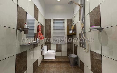 Simple Bathroom Wall Tiles And Floor Concept Tile Design  Aamphaa Showroom