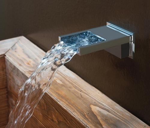 Waterfall Spout and Tub Filler Baths - Waterfall Shower or Spout for ...