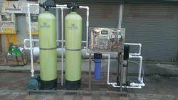 2000 LPH FRP RO Plant