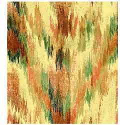 Multicolor Ikat Printed Scarves