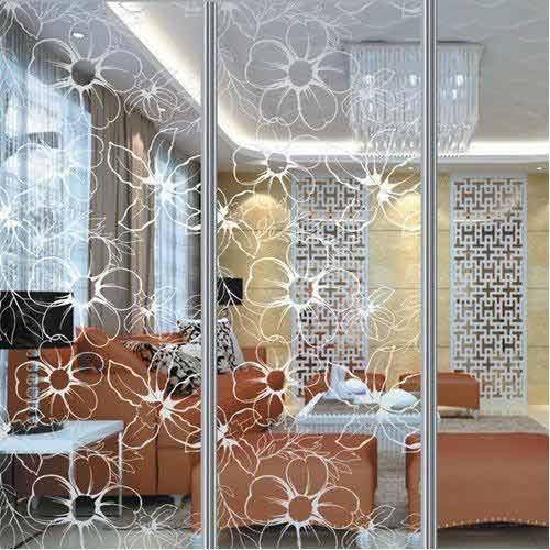 Glass Interior Decoration Glass Partition Manufacturer
