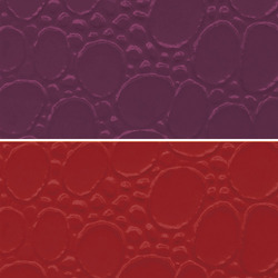 Purple PVC Leather Cloth