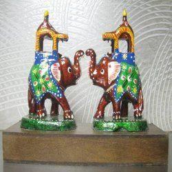 Ambari Elephant Pair