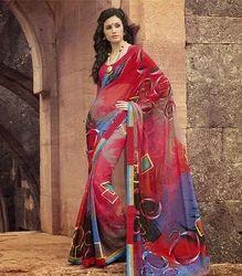 Bollywood Beautiful Designer Printed Sarees