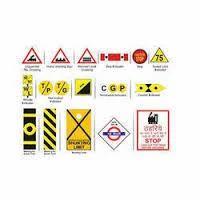 Railway Reflective Sign Board