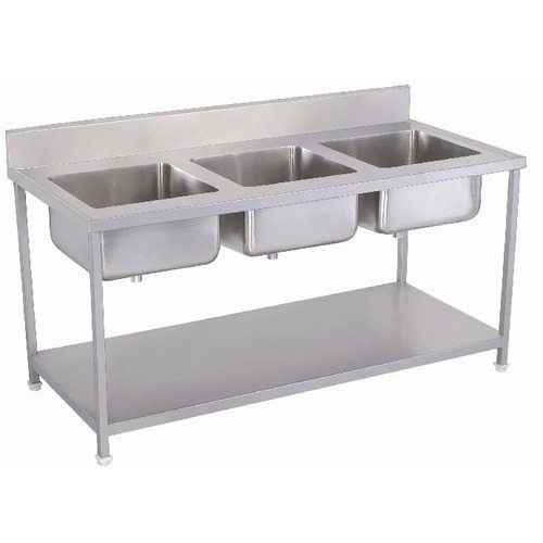 Stainless Sink Table - Table With Sinks Manufacturer from New Delhi