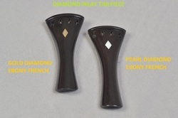 Violin Diamond Inlay Tailpiece