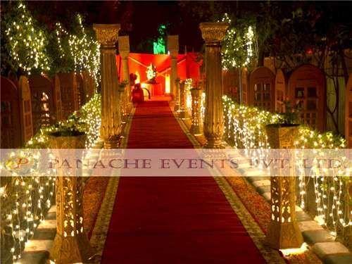 Wedding Passage Decoration Service