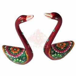Metal Love Birds Sculpture