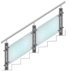 Contemporary Metal Railing