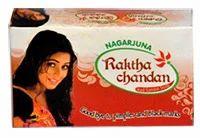 Raktha Chandan Red Sandal Soap Good Bye to Pimples and Black