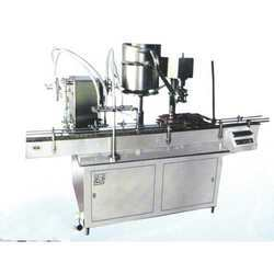 Automatic Bottle Filling And Sealing Machine