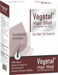 vegetal hairwell 25 gm x 4