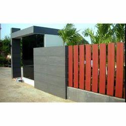 Smart Wood Fence