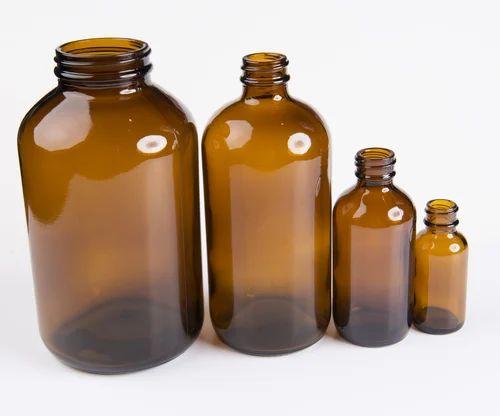 Amber Glass Bottles