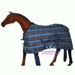 Horse Indoor Winter Rugs 1200 PP 200 GSM Black