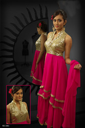 Beautiful Pink Readymade Salwar Kameez
