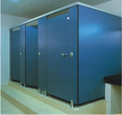Industrial Toilet Cubicles