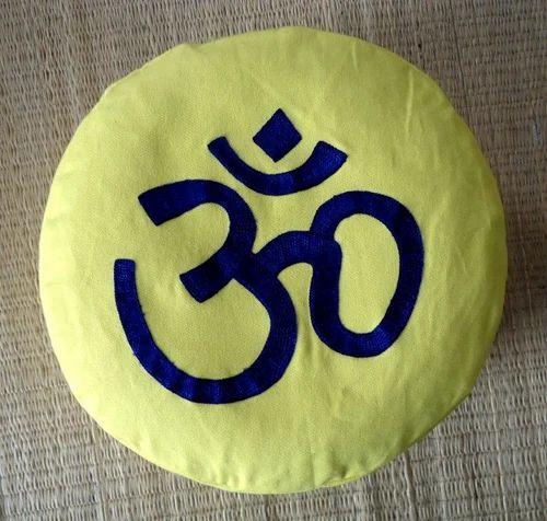 Om Logo Meditation Cushion