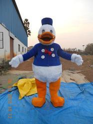 Duck Fur Costume
