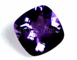 Amethyst Faceted Cushion Gemstone