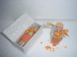 Glass Bottled Wedding Invites with Boxes for Shipping