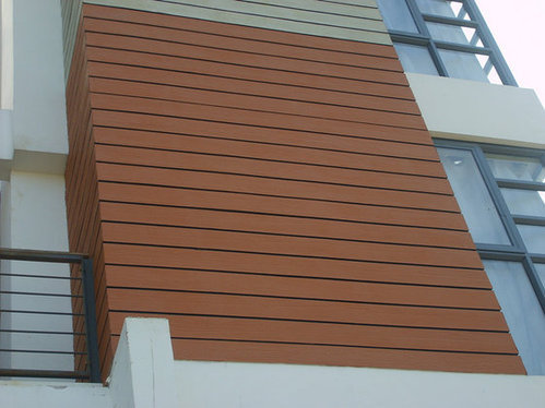 Elevation Wood Finish Fiber Cement Boards At Rs 90 Square