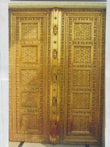 Entry Door Brass Laminated Door Manufacturer From Jaipur
