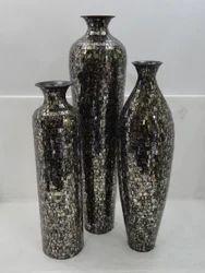 Large Mosaic Vases