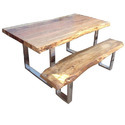 Bench with Dining Table