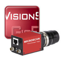 on Microscan Visionscape Gig E Solution Barcode Scanner