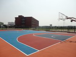 Synthetic Basket Ball Court Construction Service