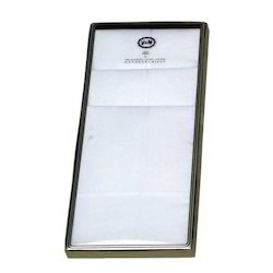 Plain White Handkerchief