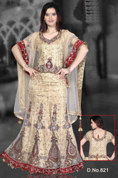Semi Bridal Lehenga