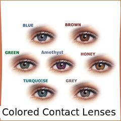 colored contact lenses manufacturers, suppliers & exporters