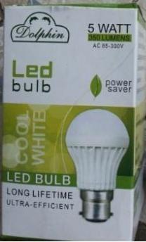 5 W ABS LED Bulb Dolphin