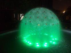 Half Dandelion with LED Lights