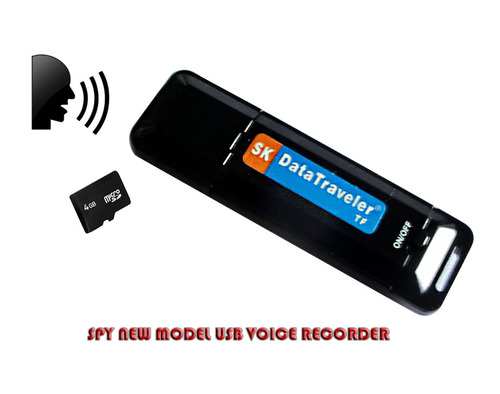 Audio Device In Delhi India - Spy New Model USB Voice Recorder ...