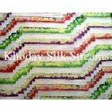 Hand Printed Silk Fabric