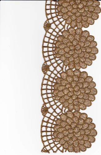 Cutwork Embroidery Lace  Cut Work Saree Border