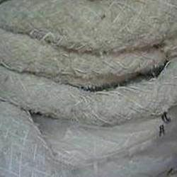 fiber filled fluff asbestos lagging rope
