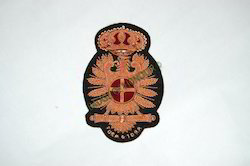 Hand Embroidered Blazer Badge