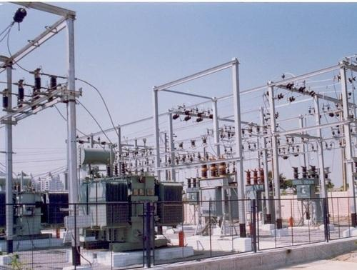 electrical substation switch yards